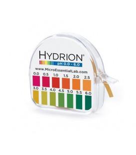 pH Litmus Paper Test Strip Roll 0.0 - 6.0 (96)