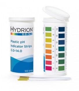 pH Plastic Test Strips 0.0 - 14.0