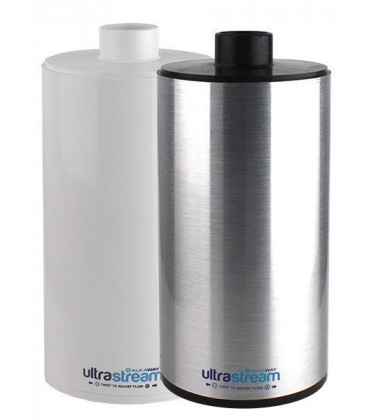 UltraStream Replacement Filter Silver and White