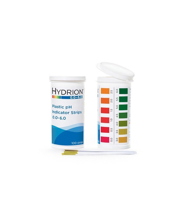 product test ph Cosmetic strip