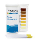 Hydrion Chlorine Test Strips 0-1000ppm (CH-1000)