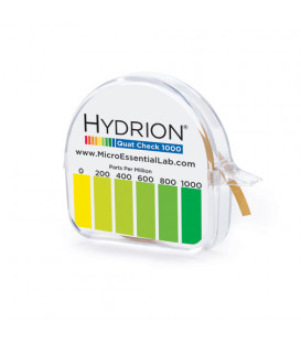 Hydrion Quat Check 0-1000 Sanitiser Test Paper (QC-1001)