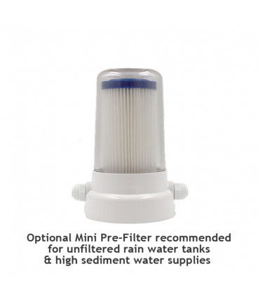 UltraStream Water Filter Stainless Steel/Black