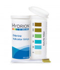 Hydrion Chlorine Test Strips 0-300ppm (CH-300)
