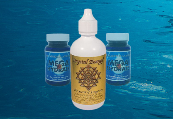 Crystal Energy Softens Water Tension