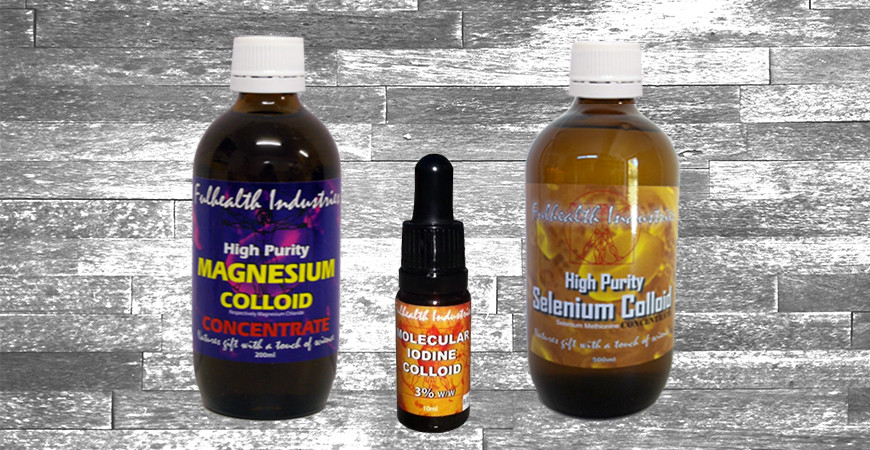 Regenerate with Iodine, Selenium and Magnesium