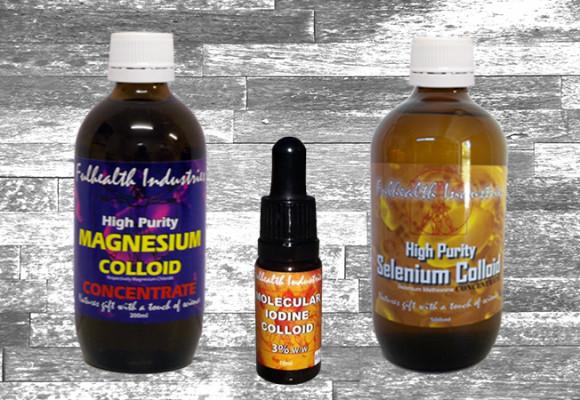 Regenerate with Iodine, Selenium and Magnesium