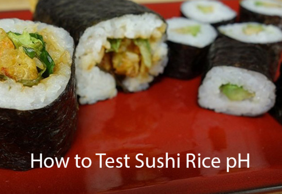 How to Test Sushi Rice pH