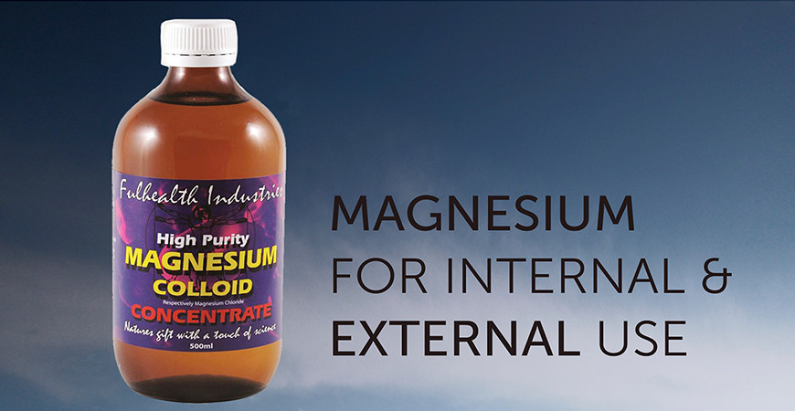 Magnesium for Internal & External Use