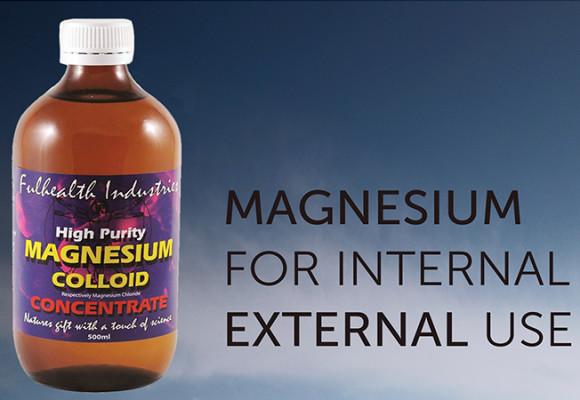 Magnesium for Internal & External Use