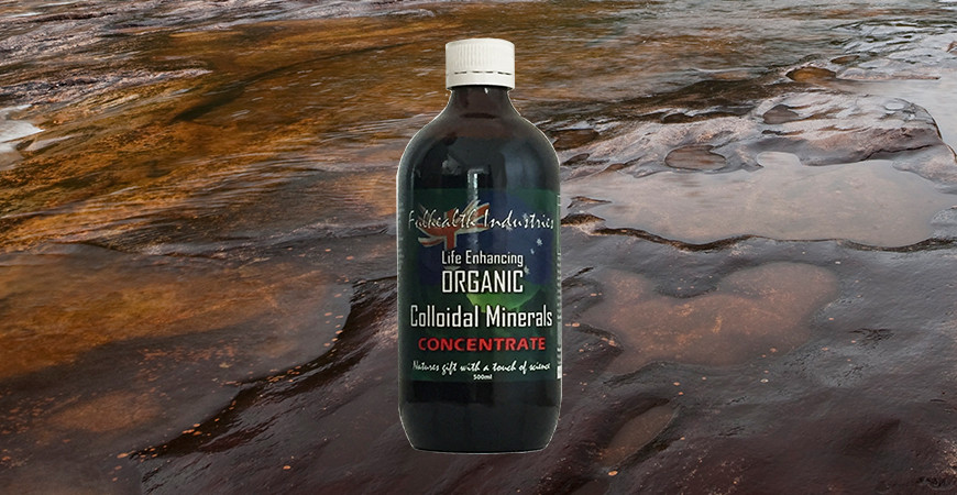 Colloidal Minerals – Why take them?